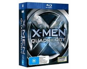 X-Men: The Ultimate Quadrilogy Blu Ray (8 DVDs)