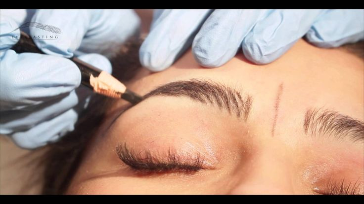 Microblading method by Everlasting Brows