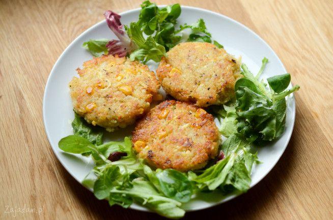 Kotlety wegetariańskie z kaszy kuskus