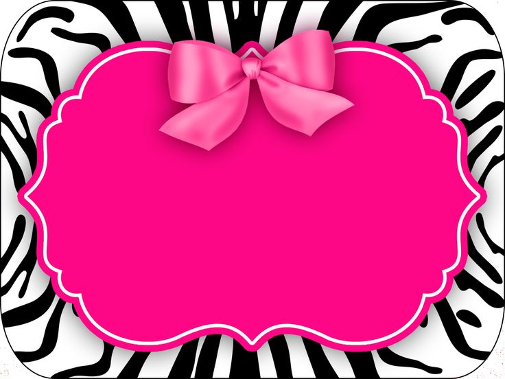 Montando a minha festa: Zebra rosa e preto