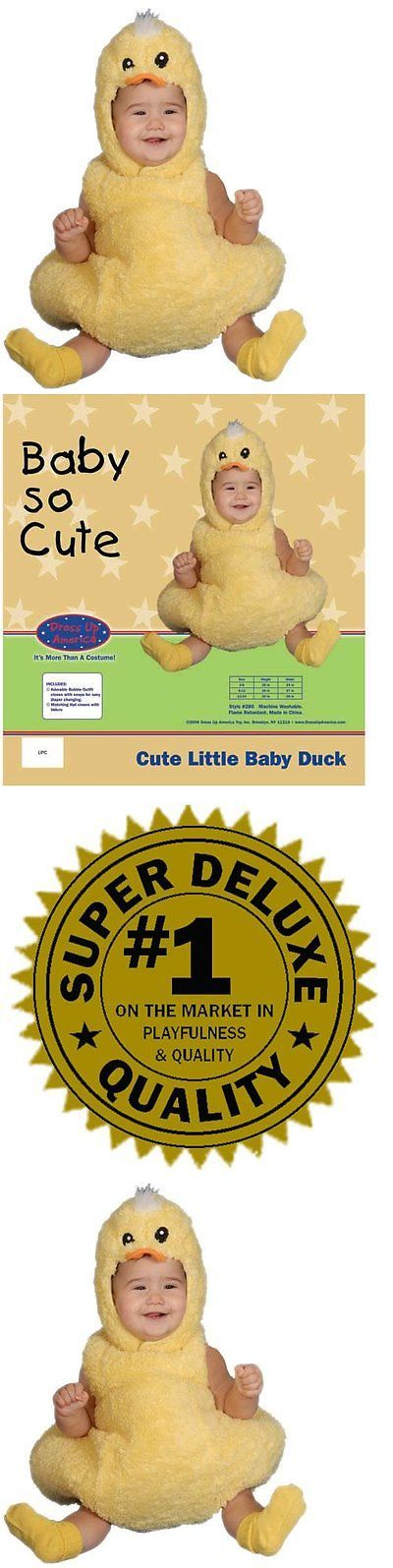 Kids Costumes: Cute Little Baby Duck Costume Set - Size 0-6 Mo. BUY IT NOW ONLY: $41.67