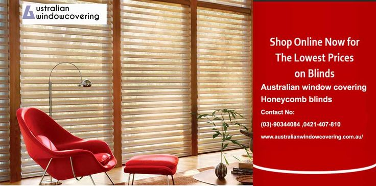 Shop online now for the lowerst price on blinds http://www.australianwindowcovering.com.au/ #plantation_shutters #vision_blinds #honeycomb_blinds #blinds_online_melbourne