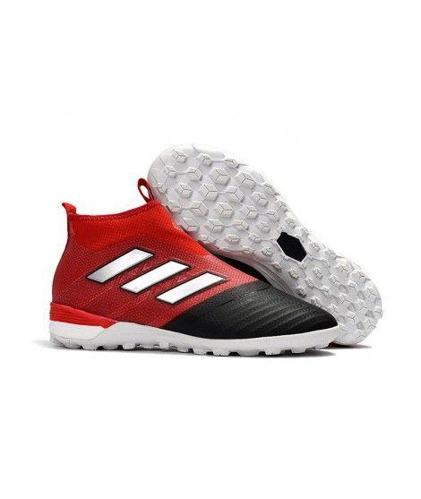 Adidas ACE Tango 17 Purecontrol Turf czerwony czarny biały buty piłkarskie