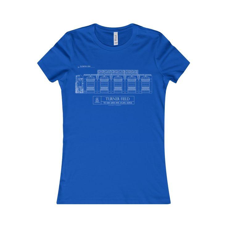Turner Field Women's Favorite Short-Sleeve Tee