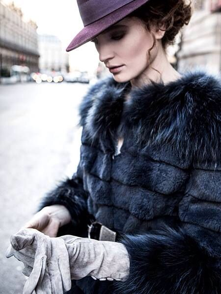Fur coats available in Senso Pop-Up Store
