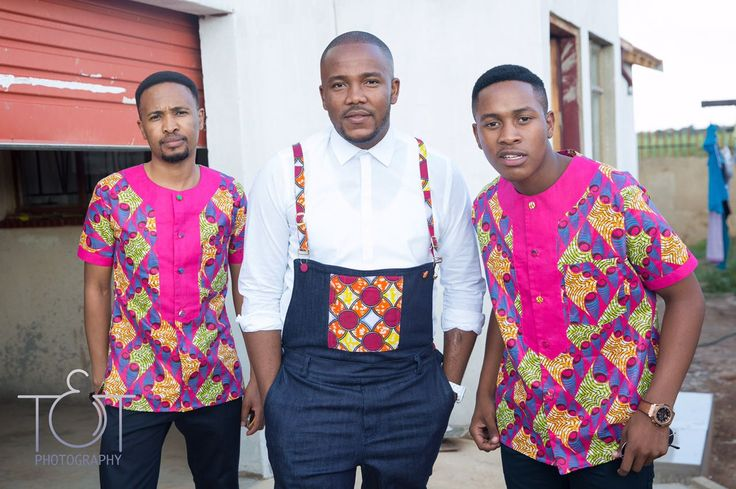 African groom traditional attire