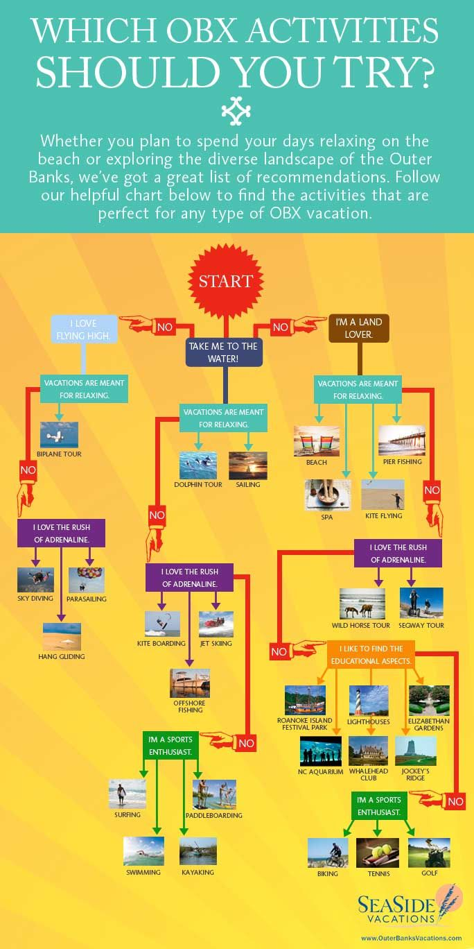 Outer Banks Infographic: Which OBX Activities Should You Try?