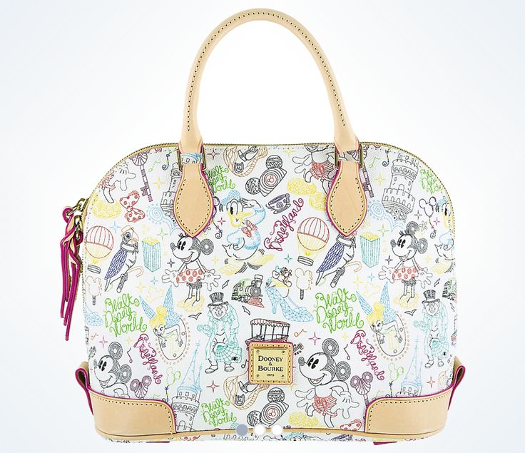 Take a Walk In The Park With The Newest Disney Dooney and Bourke Design