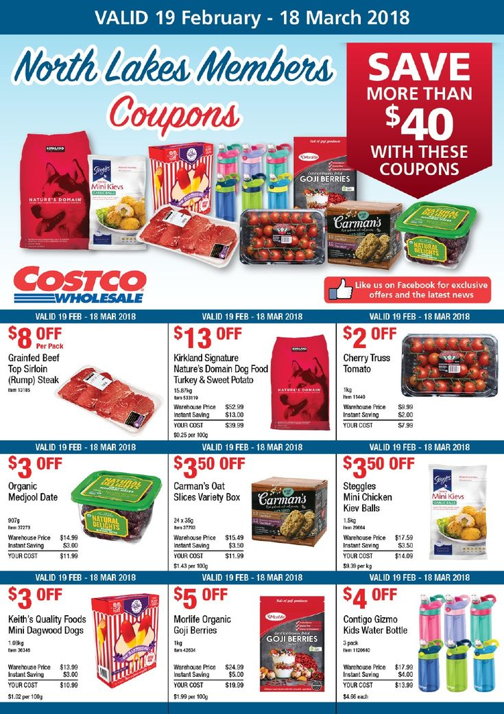Costco Catalogue Coupon 19 February - 18 March 2018 - http://olcatalogue.com/costco/costco-catalogue.html