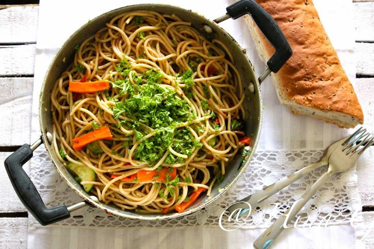 Fun, Food and Frolic: Spaghetti Alio e Olio ..... (Spaghetti with Garlic & Oil)
