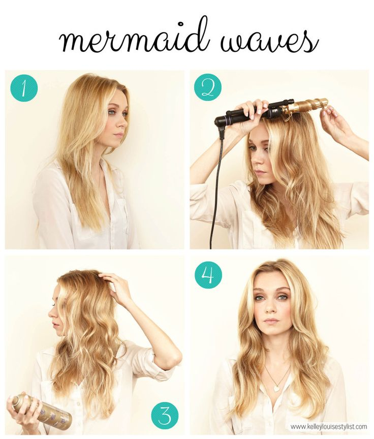 how to curl your hair in waves the easiest way to curl