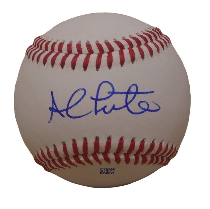 Al Leiter Autographed Rawlings ROLB Leather Baseball, Proof Photo. Al Leiter Signed Rawlings Baseball, Toronto Blue Jays, NY Yankees, New York Mets, Florida Marlins, Proof  This is a brand-new Al Leiter autographed Rawlings official league leather baseball.  Al signed the baseball in blue ball point pen. Check out the photo of Al signing for us. ** Proof photo is included for free with purchase. Please click on images to enlarge. Please browse our website for additional MLB autographed...