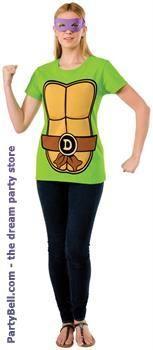 Teenage Mutant Ninja Turtles Donatello Adult T-Shirt Kit