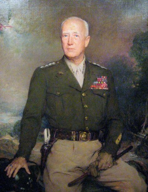 George S. Patton (1885-1945)- Boleslaw Jan Czedekowski.