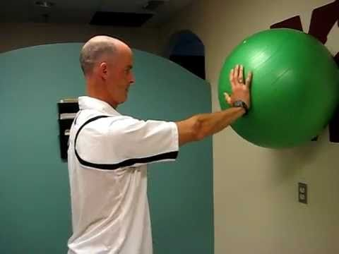 Shoulder (glenohumoral joint) stability exercise - YouTube