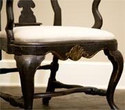 Danish Rococo Chair Detail  Circa 1740 – 1750