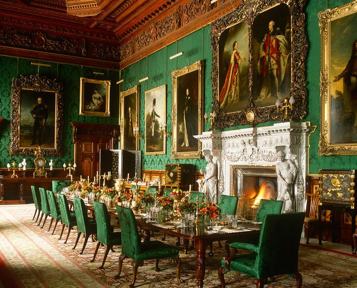 The State Dining Room, Alnwick Castle