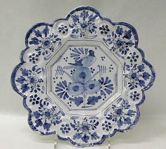 1670-1680 English Plate at the Metropolitan Museum of Art, New York
