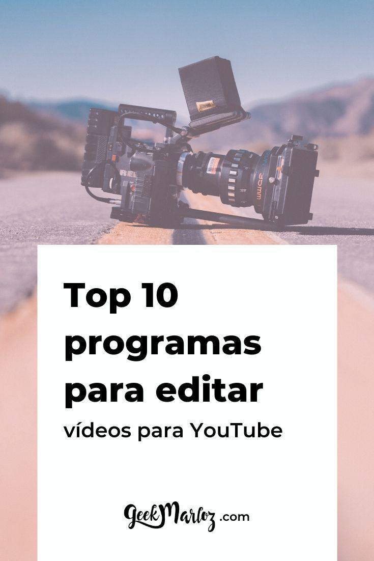 Cómo Edito Mis Vídeos De Youtube Opciones Para Laptop Y Celular Youtube Videos De Youtube Videos