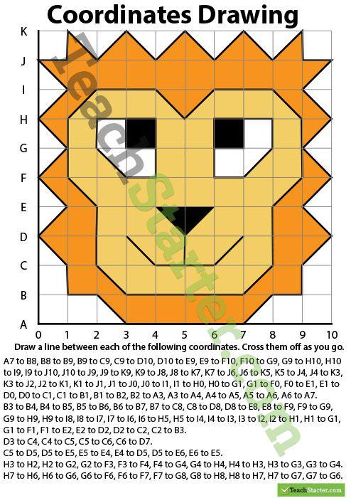 Classroom Ideas Maths ~ Coordinates drawing teaching resources teach starter