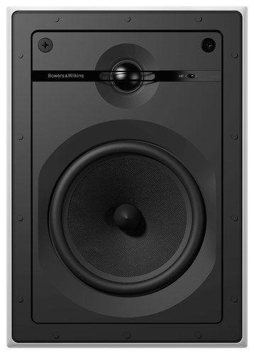 """Bowers & Wilkins - 6"""" 2-Way In-Wall Speakers (Pair) - White/Black"""