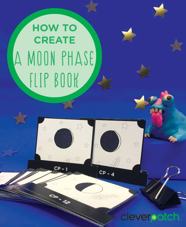Create a Moon Phases animation!