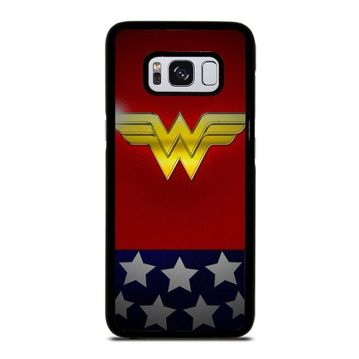 WONDER WOMAN LOGO 2 Samsung Galaxy S4 S5 S6 S7 S8 S9 Edge Plus Note 3 4 5 8 Case Cover