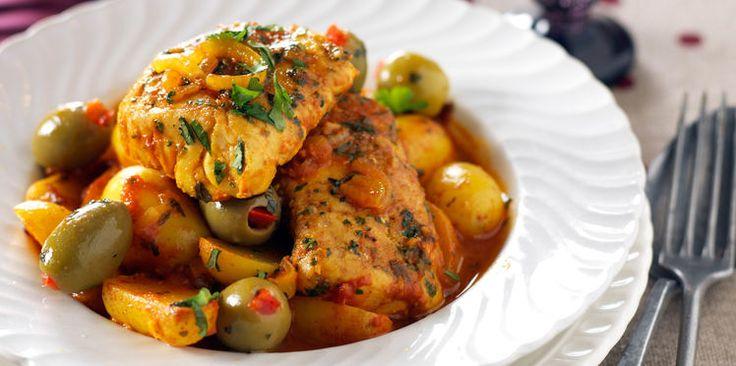 Tajine de poisson à la marocaine