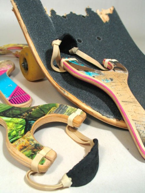 skateboards recycled