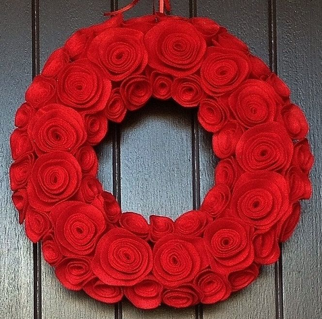 Christmas Wreath Holiday Wreath Elegant Wreath By