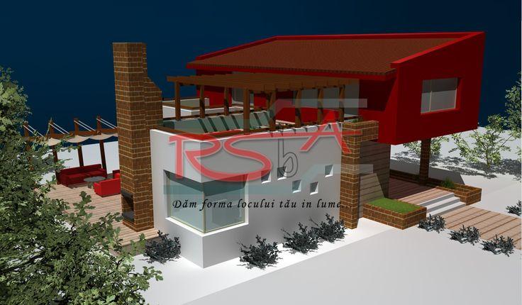 Casa cu etaj moderna   RSbA - Birou de arhitectura   http://rsba.ro