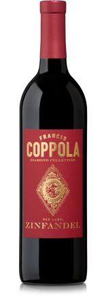 """Dalla California con furore...  Zinfandel – Diamond Collection - F.F.Coppola La """"star"""" della nuova carta dei vini"""