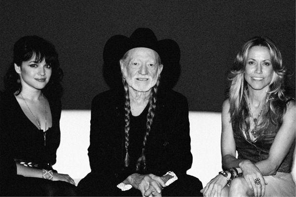 Norah Jones, Willie Nelson and Sheryl Crow