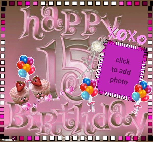 Happy 15 birthday