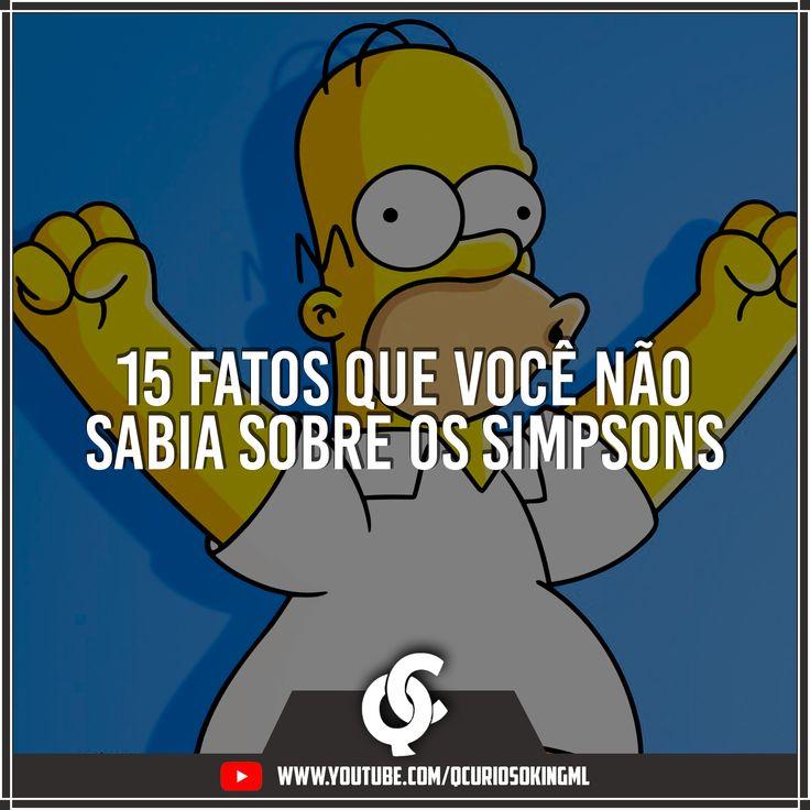 15 fatos que você não sabia sobre Os Simpsons. Sabia que a Fox criou 'A Casa dos Simpsons' e o ganhador da casa VENDEU ela?! #CuriosoBolado