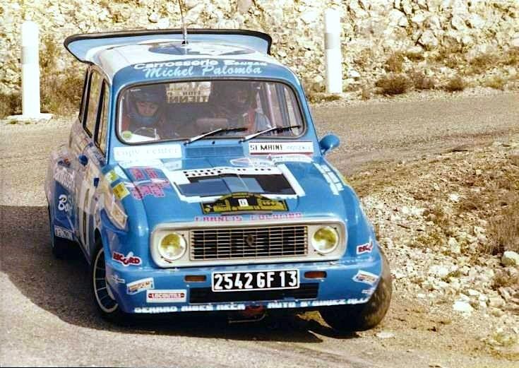Renault 4 Rally Car