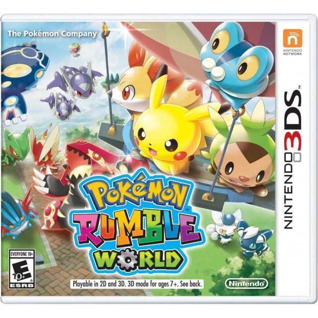 Pokemon Rumble World With Images Pokemon Nintendo 3ds