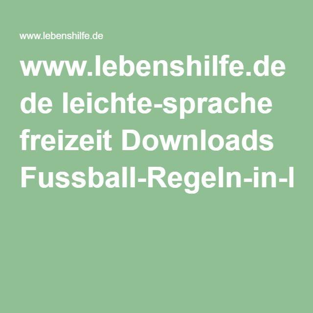 www.lebenshilfe.de de leichte-sprache freizeit Downloads Fussball-Regeln-in-LS.pdf