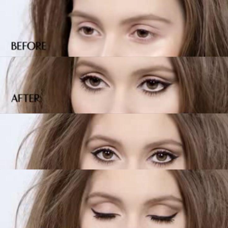 Like this simple but chic eye look.  Lisa Eldridge makeup tutorial