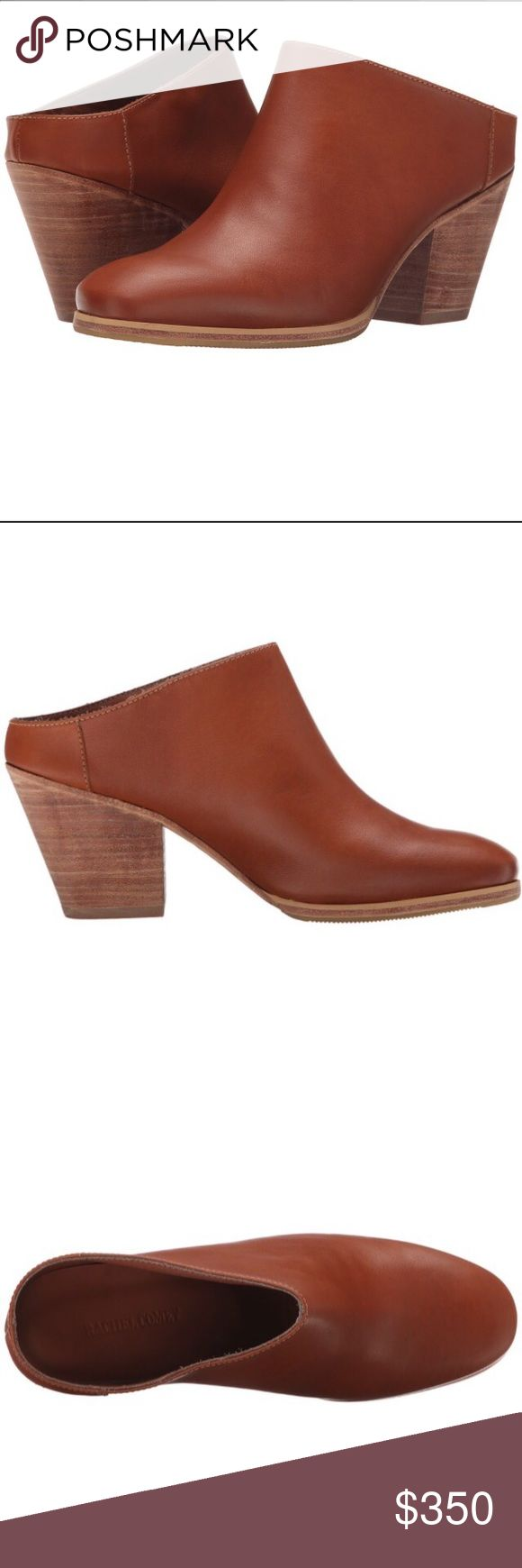 Rachel Comey Tan Leather Round Mule Shoes The most comfortable shoe and this leather is baby soft! Rachel Comey Shoes Ankle Boots & Booties