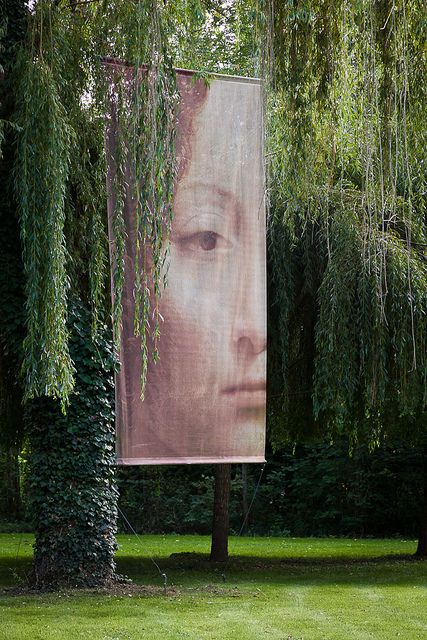 """""""on the further bank the willows wept in perpetual lamentation, their hair about their shoulders."""" (Virginia Woolf) Seen in the gardens of Le Clos Lucé in Amboise, France, the mansion where Leonardo da Vinci lived the final three years of his life."""