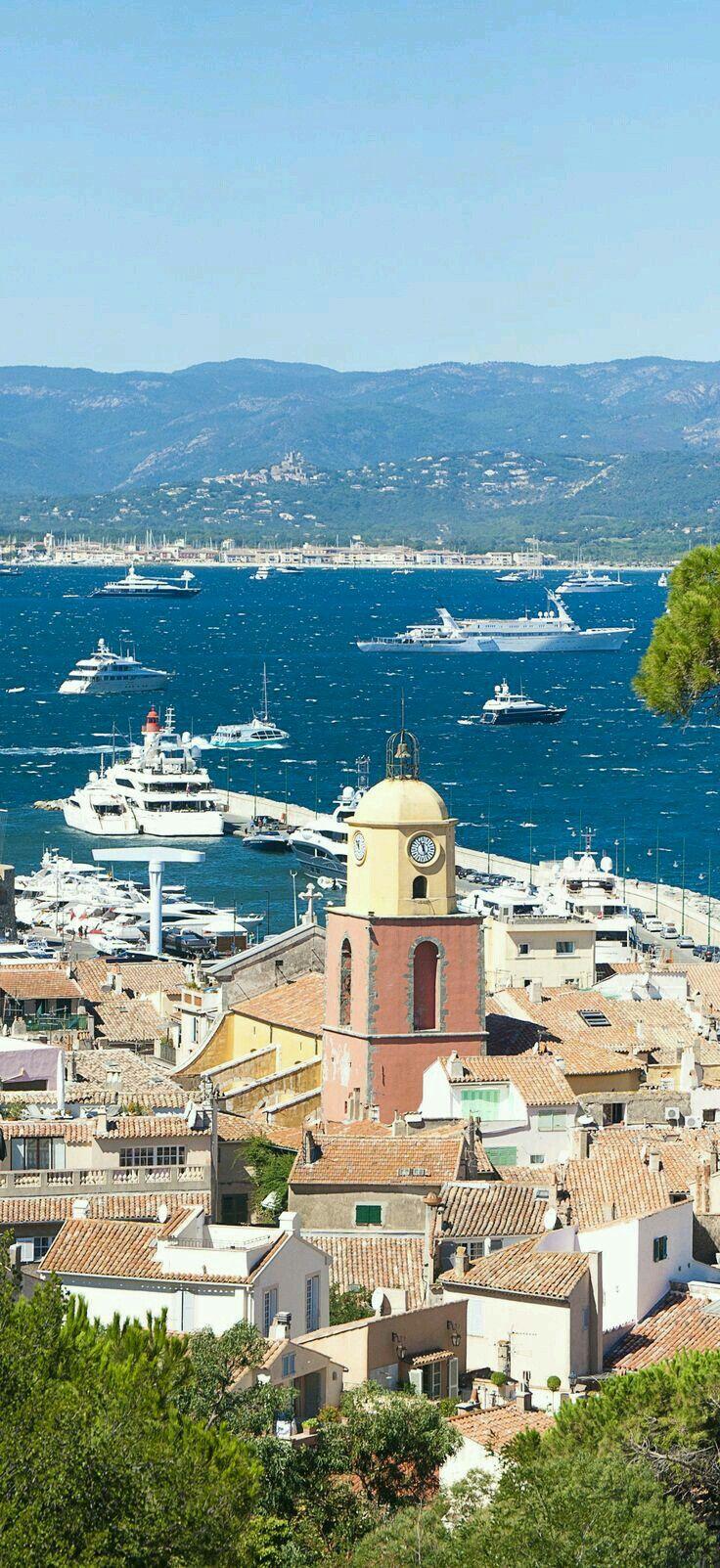 San Tropez, French Riviera.