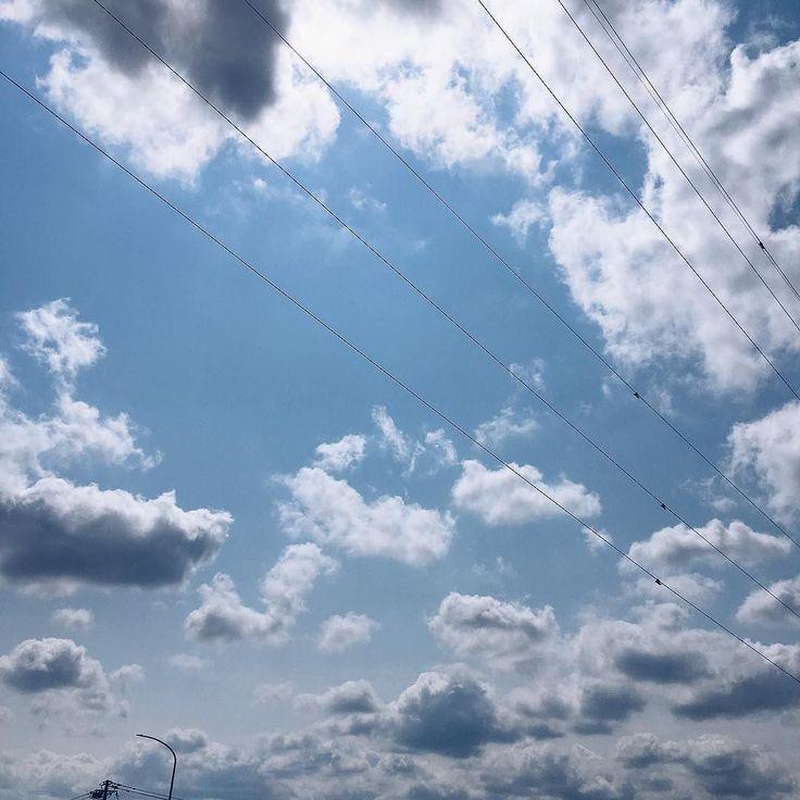 自転車の点検に行ってきましたメンテナンスが終わってほっとしました春らしく爽快な青空が広がってます #vscocam #vscom #vscogram #空 #青空 #blue #cyan #minimal #iphone #tottorisora #イマソラ #鳥取 #鳥取県