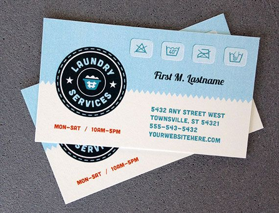 24 best business cards templates images on pinterest business card laundry services business card template design by stocklayouts stocklayouts colourmoves