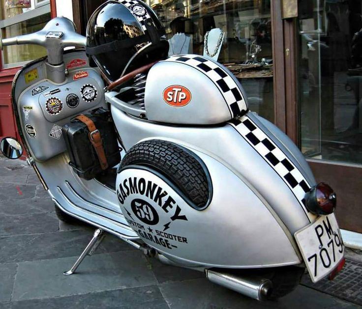 Gas Monkey - All things Lambretta & Vespa