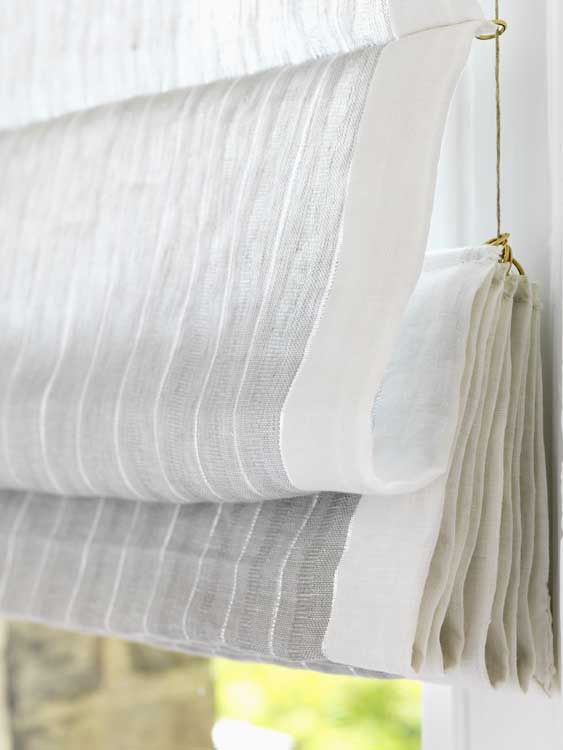 braye linen by osborne u0026 little i love the soft airy look of a sheer roman shade