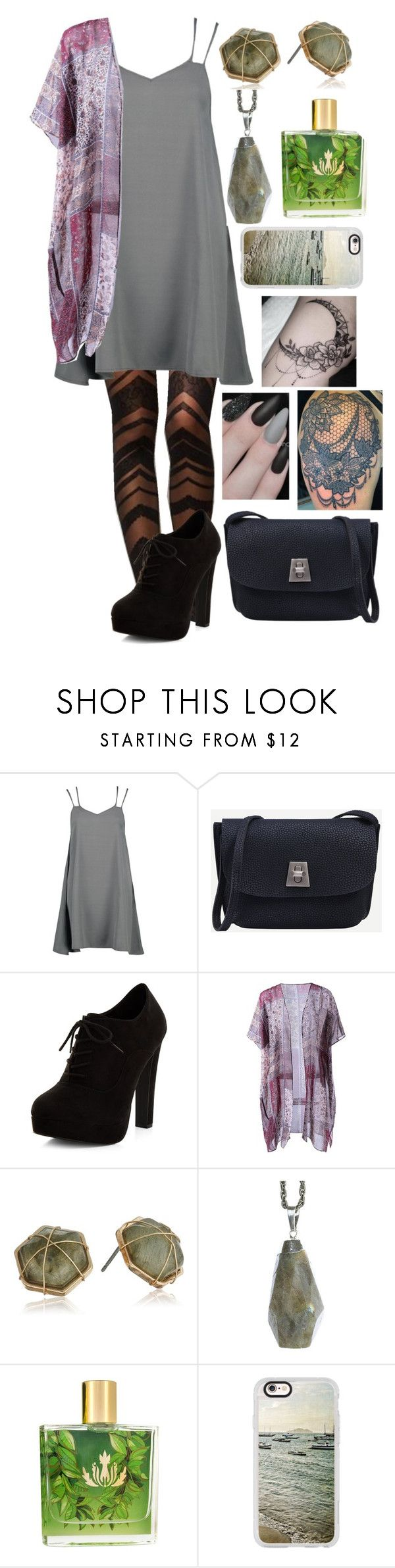 """""""Greek High Modern Day: Circe"""" by plum-and-peaches on Polyvore featuring Boohoo, Queen Bee, New Look, Panacea, Shop Dixi, Malie Organics, Casetify and modern"""