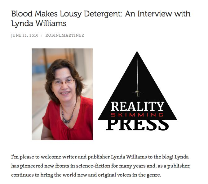 Interview by Robin L. Martinez