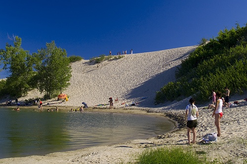 Sandbanks Provincial Park, Prince Edward County, Ontario. Yes, it's in Ontario.