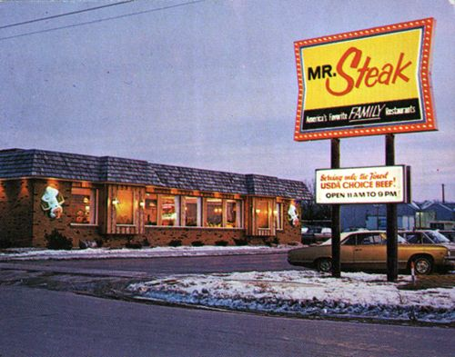 Mr Steak Ate Here All The Time Ican Still Remember The